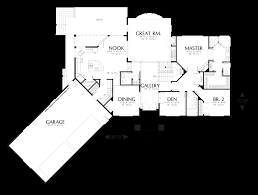 mascord house plan 1308b the doland image for doland european luxury plan with angled 4 car garage main floor plan