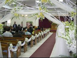 Church Pew Home Decor Emejing Simple Wedding Decorations For Church Pictures Awesome