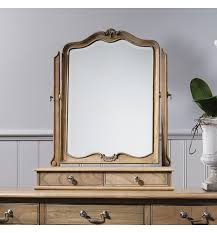 dressing table with mirror and drawers chic weathered dressing table mirror style our home