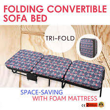 Folding Bed With Mattress Folding Guest Bed Ebay