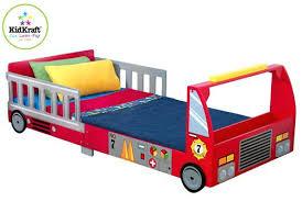 walmart toddler beds kidkraft firetruck toddler bed fire truck toddler bed kidkraft