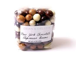 afternoon snack new york chocolate espresso beans from dean