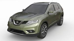 3d model nissan x trail cgtrader