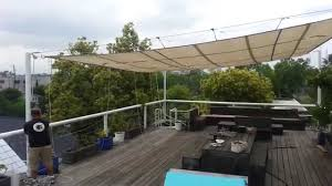 retractable sun shade by bahama rigging youtube