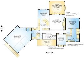 cascadia 4728 3 bedrooms and 3 baths the house designers