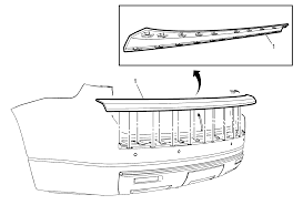 repair instructions rear bumper step pad replacement acadia
