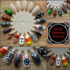 collection easy diy halloween nail art pictures best 25 halloween