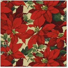 vintage christmas wrapping paper rolls luxe poinsettia metallic ink christmas wrapping paper roll 45 sq
