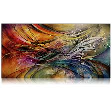 Paintings For Living Room Aliexpress Com Buy Iarts Hand Painted Unframed Oil Painting