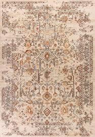 kas bob mackie home vintage 1310 azure blue marrakesh area rug