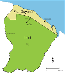 Guyana Map Inini U2013 Wikipedia
