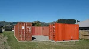 shipping container beach house new zealand leafs net