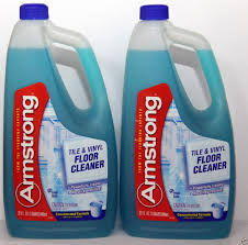 2 armstrong tile vinyl floor cleaner concentrated formula fresh