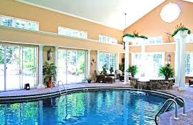 small pool house ideas adorable glass house ideas full imagas small pool inside with grey