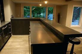 concrete top bar table concrete bar table custom concrete bars concrete top outdoor bar