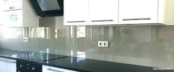 prix credence cuisine credence cuisine verre sur mesure credence en verre trempac pour