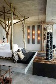 chambre en bambou aménager sa chambre avec du style lit bambou chambre et