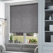 kitchen blind ideas thermal luxe dimout cinder roller blind cinder window and grey