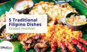 traditional cuisine recipes 5 traditional dishes cooked healthier philcare