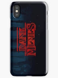 Meme Phone Cases - stranger things dank memes iphone cases covers by brittyoung121