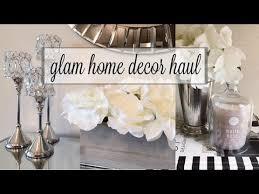 Glam Home Decor Fall Glam Home Decor Haul Youtube