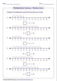 multiplication worksheet layout minus the flaw
