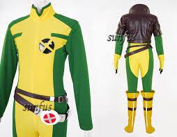 Men Rogue Halloween Costume Men Men Rogue Cosplay Costume Jacket Jumpsuit Anime Custom