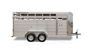 bumper pull livestock trailers 8107 livestock trailer