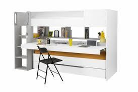 bureau coulissant lit haut trio bureau et lit coulissant lits gain de place