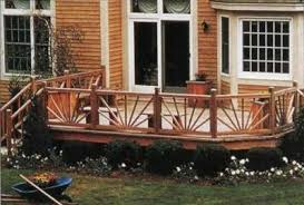 Patio Rails Ideas Deck Railing Designs Pictures Homegrid Symmetry Railing With Deck
