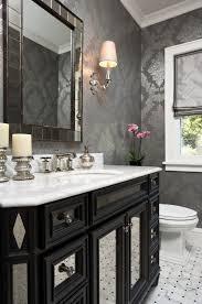 wallpaper for bathroom ideas impressive bathroom wallpaper ideas 3 grey bathrooms designs gray