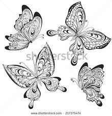 23 best small designs butterfly stencil images on
