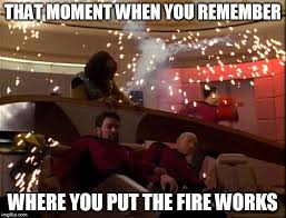 Meme Generator Star Trek - star trek bridge explosions meme generator imgflip
