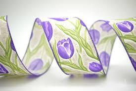 satin ribbon bulk tulips print satin ribbon bulk ribbon supply king