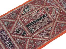 Wall Rugs Hanging Kundan Wall Decorative Tapestry Brown Hanging Distinctive Home