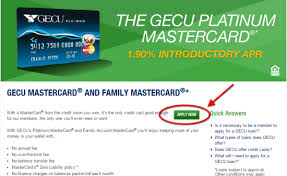 gecu credit cards personal business banking online