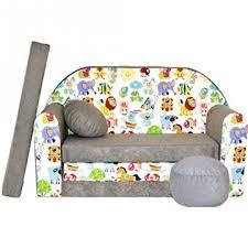 sofa kinderzimmer sofa kinderzimmer ii ii stoff grau 50 x 100 x 60 cm 30
