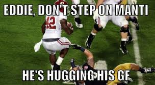 Notre Dame Football Memes - te oing in the bcs chionship game manti te o s girlfriend hoax