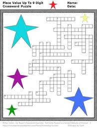 place value worksheet 5th grade math homework crossword puzzle tpt