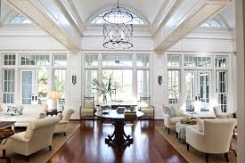 ceiling room dividers living room traditional with white