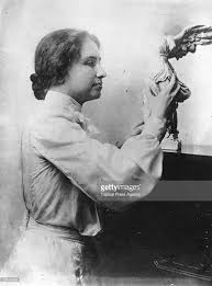 How Old Was Helen Keller When She Became Blind 27 Jun 1880 Blind And Deaf Author Lecturer Helen Keller Born