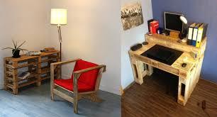 fabriquer un bureau avec des palettes faire un bureau avec une planche maison design bahbe com