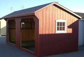 Lean To Barns Maryland Amish Horse Barns Shed Row Barns Run In Sheds And Lean