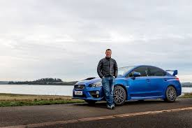 blue subaru gold rims subaru wrx sti 2016 long term test review by car magazine