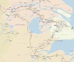 China Rivers Map by Yangtze River Delta Rail Map Johomaps