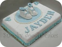 snooky doodle cakes baby boy baptism cake