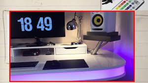 diy studio desk tisch 2016 ikea hack danny chris youtube