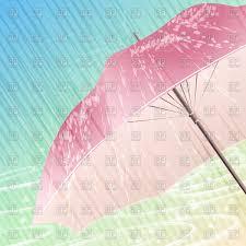 blue umbrella under rain vector clipart image 11693 u2013 rfclipart