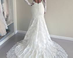 Lace Wedding Dresses Etsy