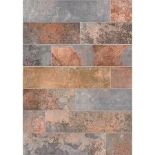 marazzi piazza vita elegante ardesia 6 x 24 glazed porcelain floor